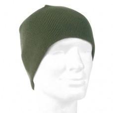 Čepice BEANIE pletená OLIV