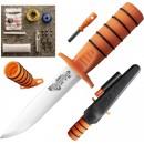 Nůž Survival Edge (s oranžovou rukojetí)