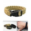 Žoldácký / PARA náramek 15mm COYOTE (Paracord Bracelet)