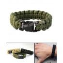 Žoldácký / PARA náramek 22mm OLIV (Paracord Bracelet)