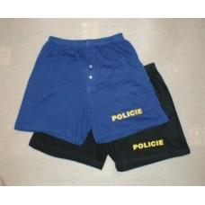 Trenýrky POLICIE černé (volné)