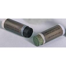 Maskovací barvy v tubě černo/zelené (kamufláž)