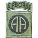 Nášivka Airborne AA