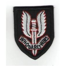 Nášivka SAS - okřídlená dýka