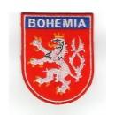 Nášivka Český lev - BOHEMIA