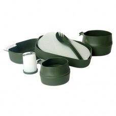 Jídelní sada WILDO® Camp-A-Box 7 dílů, Oliv