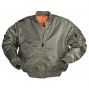 Bunda zelená  MA1® STYLE, US FLIGHT JACKET (Bomber)