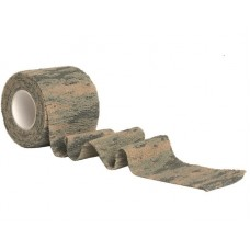 Maskovací páska látková AT-Digital (vícenásobně použitelná)