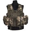 Modulární taktická vesta MANDRA WOOD. (8 kapes)