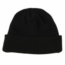 Čepice Watch Cap BLACK - jemně pletená