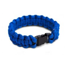 Žoldácký / PARA náramek 15mm BLUE (Paracord Bracelet)