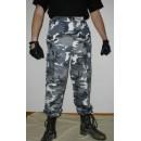 Kalhoty BDU maskovací METRO