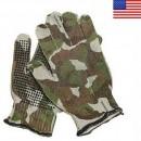Střelecké rukavice SPANDO woodland