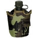 US polní láhev s obalem maskovací vz.95