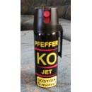 Pepřový sprej KO JET OC ( 50ml ) tekutá střela