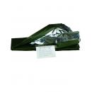 Izotermická fólie olivovo-stříbrná - Survivalová deka